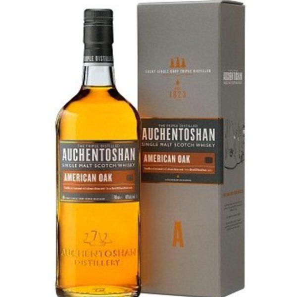 Auchentoshan American Oak Single Malt Scotch Whisky Fles 70 Cl.