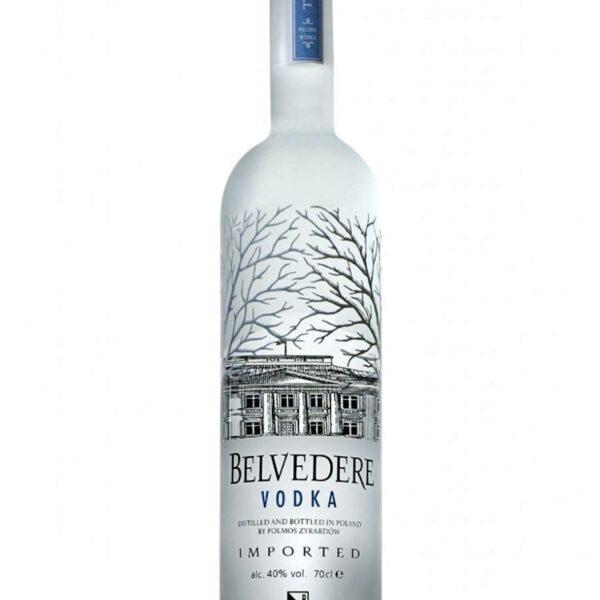 Belvedere Vodka Fles 70 Cl.