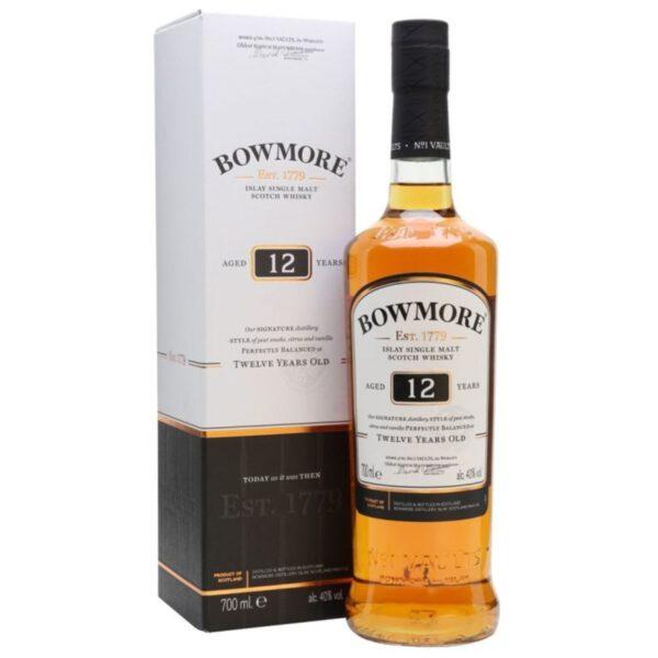 Bowmore 12 Years Islay Single Malt Scotch Whisky Fles 70 Cl.
