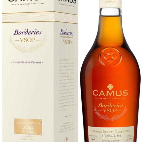 Camus Borderies VSOP Cognac Fles 70 Cl.