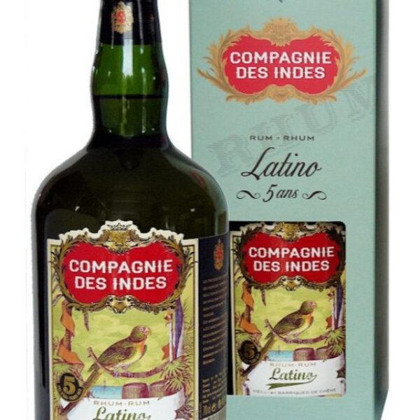 Compagnie Des Indes Latino Rum Fles 70 Cl.