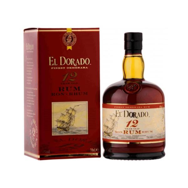 El Dorado Rum 12 Years 70 Cl.