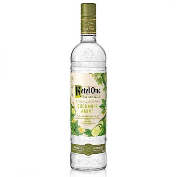 Ketel One Cucumber & Mint Vodka Fles 70 Cl.