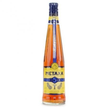 Metaxa Brandy 5 Stars Fles 70 Cl.