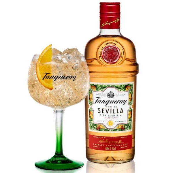 Tanqueray Flor De Sevilla Gin Fles 70 Cl.